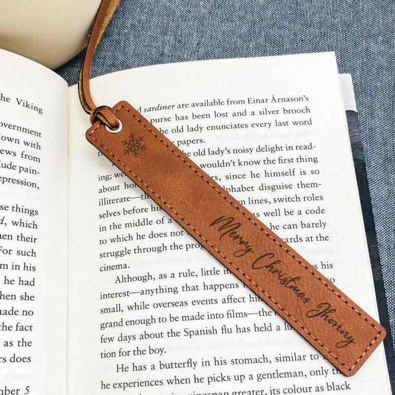 book mark leatherette